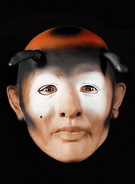 Marienkäfermann Maske aus Schaumlatex