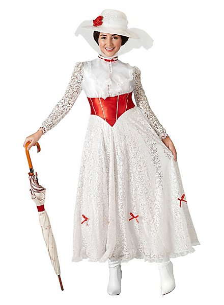 Mary Poppins costume flower dress