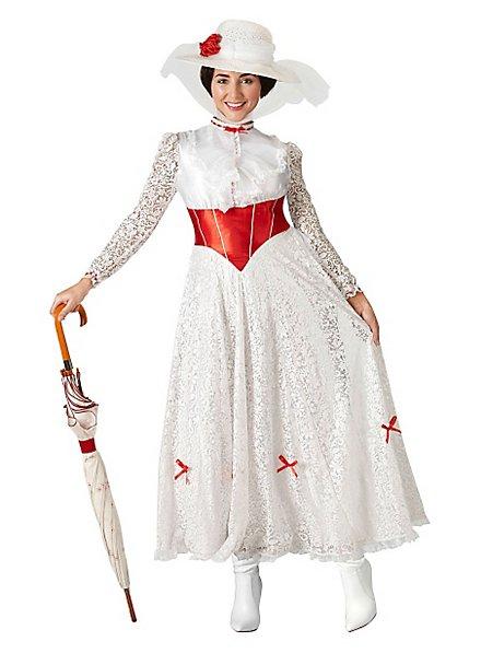 Mary Poppins Kostüm Blumenkleid
