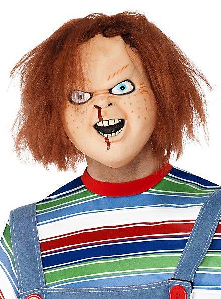 Masque Chucky la poupée de sang en latex