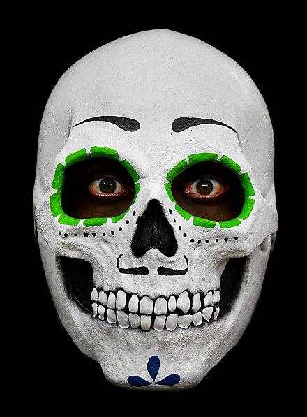 Masque de calaca mexicaine en latex