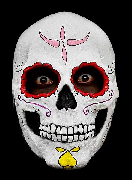Masque de calavera mexicaine en latex