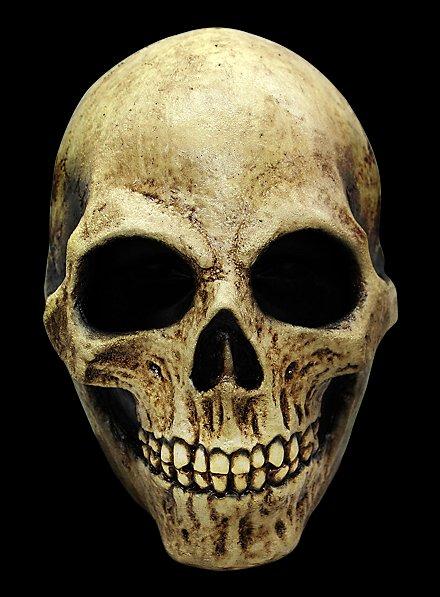 Masque de crâne couleur os