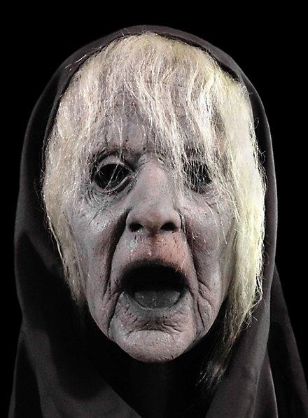 Masque de fantôme de vielle femme