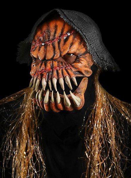Masque de monstre citrouille en latex