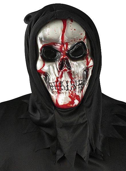 Masque de squelette sanglant