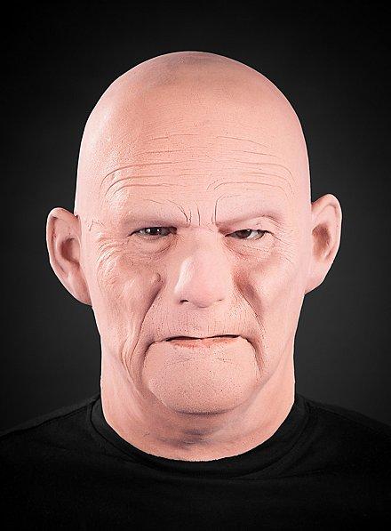 Masque de vieil homme en latex