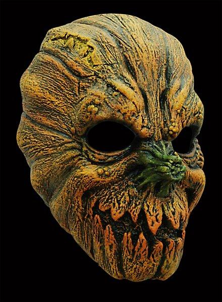 Masque d'Halloween terrifiant de citrouille