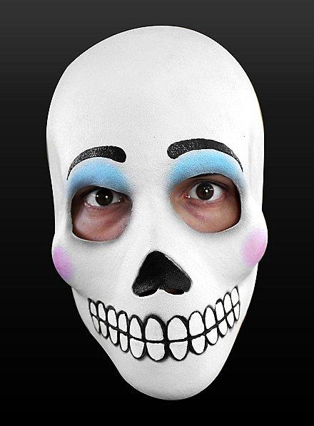 Masque le jour des morts Catrina en latex