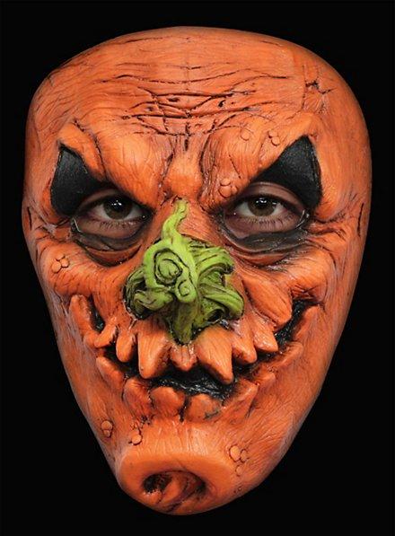 Masque terrifiant de citrouille ricanante