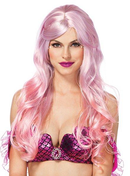 Meerjungfrau Perücke rosa