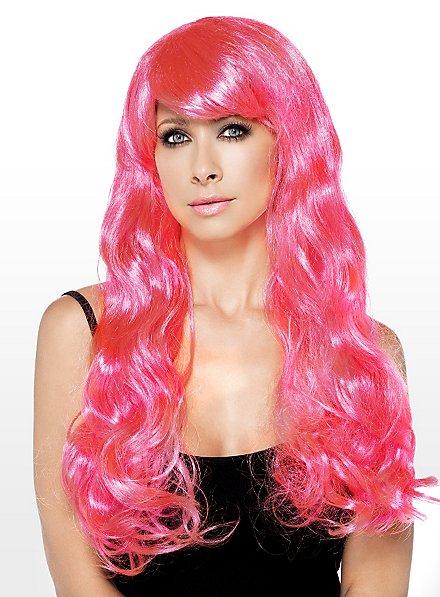 Meerjungfrau pink Perücke