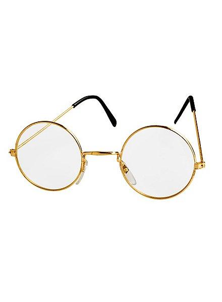 Metal-Rimmed Glasses gold