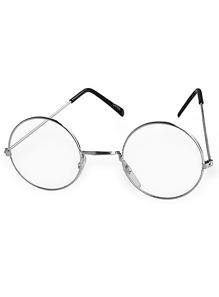 Metal-Rimmed Glasses silver
