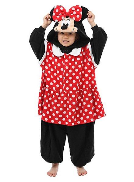 Minnie Maus Kigurumi Kinderkostüm