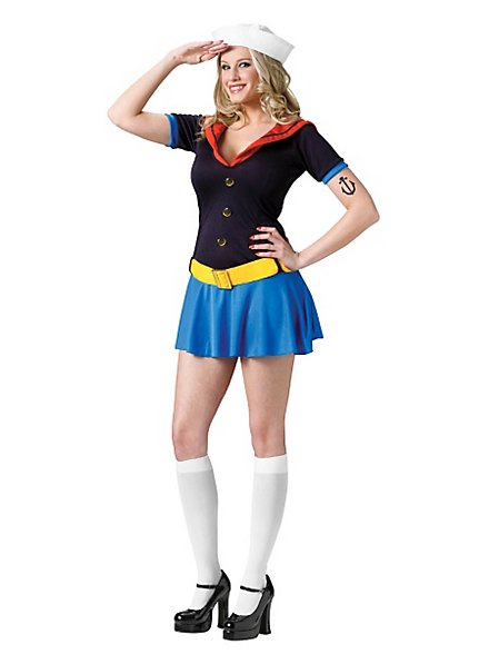 Miss Popeye Costume