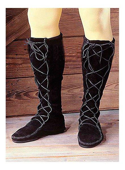 Mittelalter Stiefel schwarz