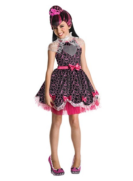 Monster High Draculaura Kleid Kinderkostüm