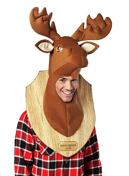 Moose Wall Trophy Costume