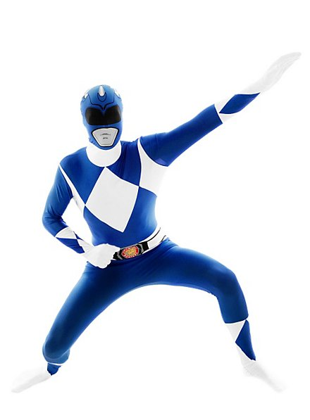 Morphsuit Blue Power Ranger Full Body Costume