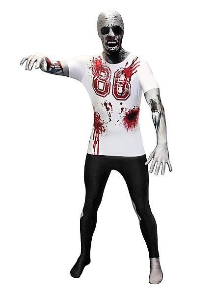 Morphsuit College Zombie Ganzkörperkostüm