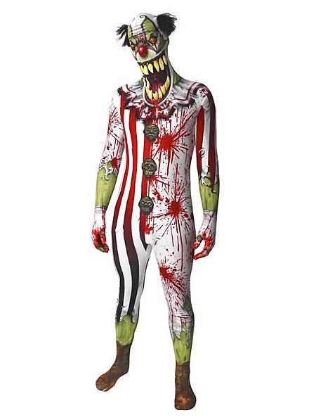 Morphsuit Horrorclown Ganzkörperkostüm
