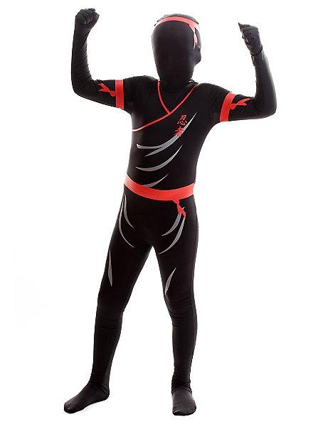 Morphsuit Kinder Ninja Ganzkörperkostüm