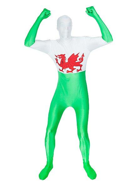 Morphsuit Pays de Galles Déguisement intégral