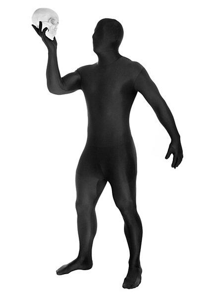 Morphsuit schwarz Ganzkörperkostüm