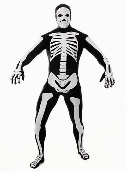 Morphsuit Skeleton black