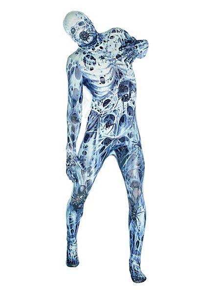 Morphsuit spider victim full-body costume