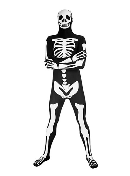 Morphsuit squelette lumineux Déguisement intégral