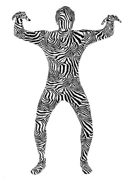 Morphsuit Zebra