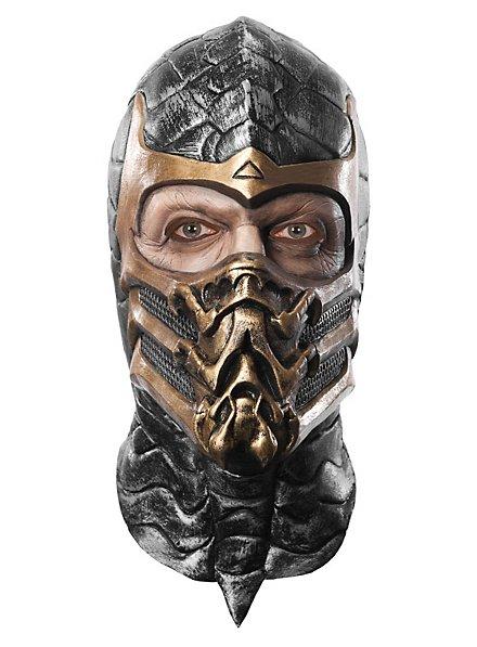 Mortal Kombat Scorpion Maske aus Latex