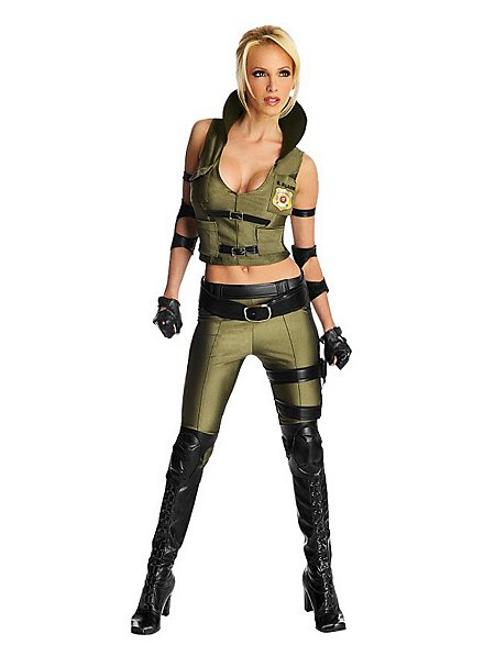 Mortal Kombat Sonya Blade Kostüm