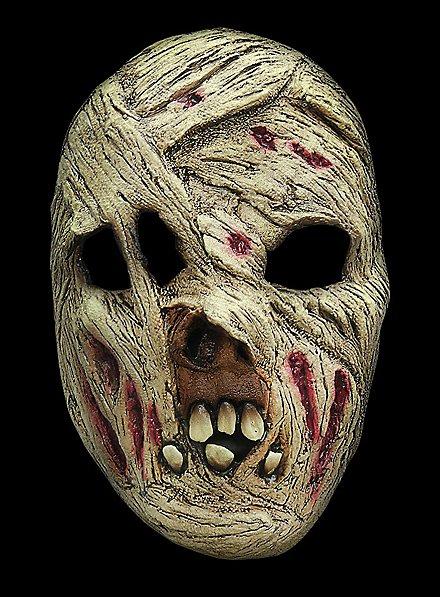 Mummy Horror Mask made of latex