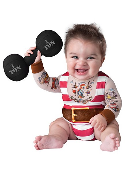 Muscle Man Baby Costume
