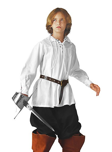 Musketierhemd für Kinder