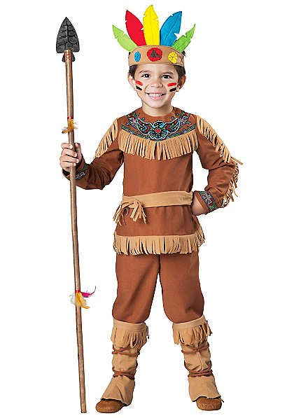 Native American chief costume for boys