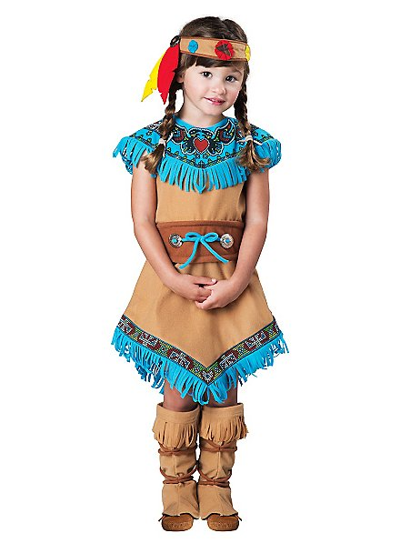 Native American squaw costume for girls