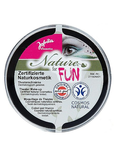 Natural cosmetics make-up black