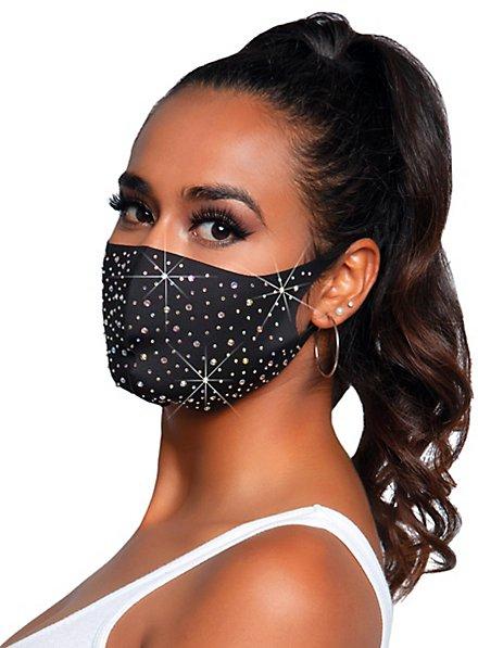 Naya face mask with rhinestones