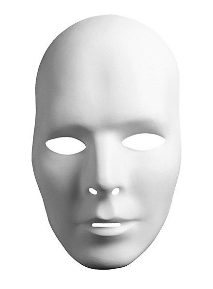 Neutralmaske Kopf Mann