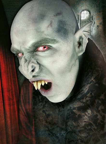 Nez de vampire Application en latex
