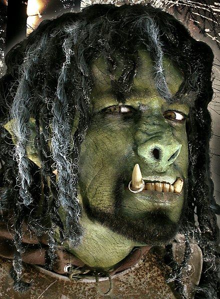 Nez d'Orc Nez de personnage haut de gamme en latex