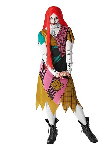 Nightmare Before Christmas Sally Kostüm
