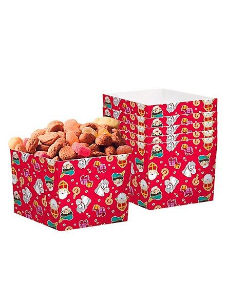 Nikolaus Snackboxen 6 Stück