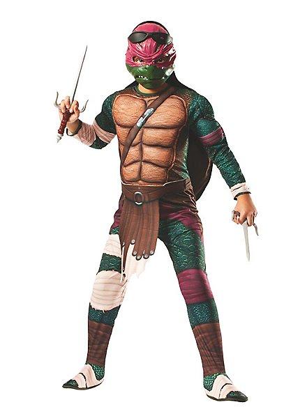 Ninja Turtles Raphael Deluxe für Kinder mit Polsterungen