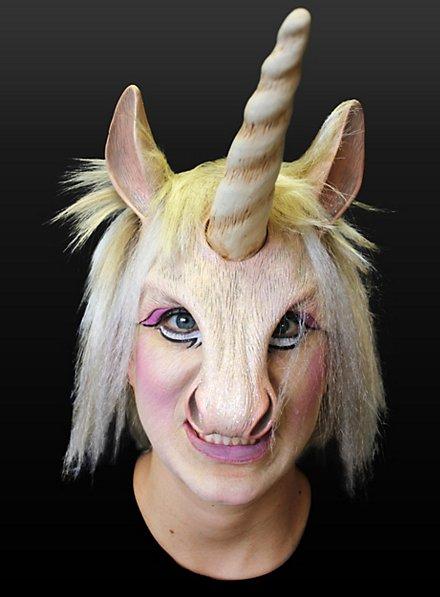 Noble Unicorn Latex Half Mask