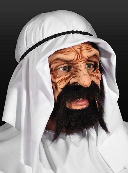 Ölscheich Maske aus Latex